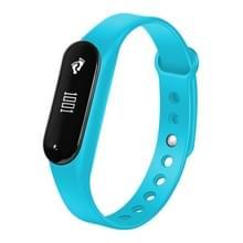CHIGU C6 0 69 inch OLED Display Bluetooth Smart armband  steun hartslagmeter / stappenteller / gesprekken herinneren / slapen Monitor / sedentaire herinnering / Alarm / anti-verloren  compatibel met Android en iOS telefoons (blauw)