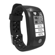 S908 GPS Bluetooth Smart Band armband  IP68 waterdicht Professional  steun hartslagmeter / zwemmen analyse / stappenteller / Track-sport / slapen Monitor / sedentaire herinnering / Call herinnering  compatibel met Android en iOS telefoons (zwart)