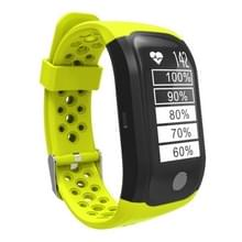 S908 GPS Bluetooth Smart Band armband  IP68 waterdicht Professional  steun hartslagmeter / zwemmen analyse / stappenteller / Track-sport / slapen Monitor / sedentaire herinnering / Call herinnering  compatibel met Android en iOS telefoons (groen)