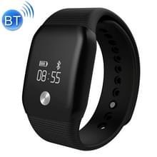 A88 PLUS 0 66 inch OLED Touch Screen bluetooth Slimme armband  steun bloed zuurstof Monitor / horen tarief Monitor / stappenteller / oproepen aan herinneren / slaap Monitoring(zwart)
