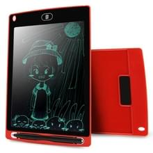 CHUYI Portable 8.5 inch LCD Writing Tablet Drawing Graffiti Electronic Handwriting Pad Message Graphics Board Draft Paper with Writing Pen  CE / FCC / RoHS Certificated(Red)