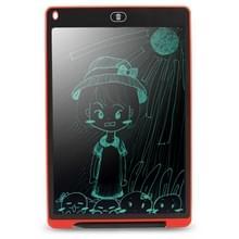 CHUYI draagbare 12 inch LCD Tablet tekening Graffiti elektronische handschrift Pad bericht Graphics Board ontwerp schrijfpapier met schrijven Pen  CE / FCC / RoHS-Certificated(Red)