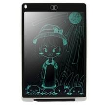 CHUYI draagbare 12 inch LCD Tablet tekening Graffiti elektronische handschrift Pad bericht Graphics Board ontwerp schrijfpapier met schrijven Pen  CE / FCC / RoHS-Certificated(White)