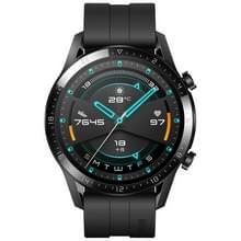 HUAWEI WATCH GT 2 46mm sport polsbandje Bluetooth fitness tracker Smart Watch  Kirin a1-chip  ondersteuning hartslag/Drukbewaking/oefening/stappenteller/oproep herinnering (zwart)