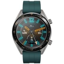 HUAWEI WATCH GT Sport Armband 1.39 inch AMOLED 5ATM waterdicht Armband Bluetooth Fitness Tracker Smart Watch  ondersteuning voor GPS / hart stem / slaap bewaking / druk Monitoring / oefening Tracking / stappenteller / Call herinnering (groen)