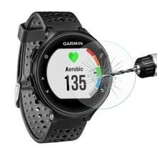 ENKAY Hat-Prins voor Garmin Forerunner 235 Smart Watch 0.2mm 9H oppervlaktehardheid 2.15D gebogen rand getemperd glas Film