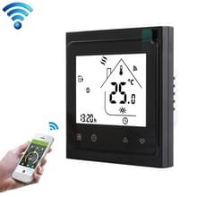 BHT-002GCLW 3A laad water/gas boiler type LCD digitale verwarming kamer thermostaat met tijdweergave  WiFi controle (zwart)