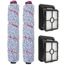 Filters roller brushes set voor visser CrossWave. 1866 stofzuiger accessoires 1785