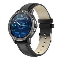 CF19 1 3 inch IPS Color Touch Screen Smart Watch  IP67 Waterproof  Support Weather Forecast / Heart Rate Monitor / Sleep Monitor / Bloeddrukbewaking (Zwart)