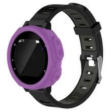 Effen kleur siliconen horloge beschermhoes voor de Garmin F235 / F750(Purple)