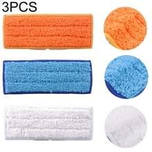 3 PCS herbruikbare vervanging microvezel dweilen doek natte doek voor irobot Braava jet240 / 241