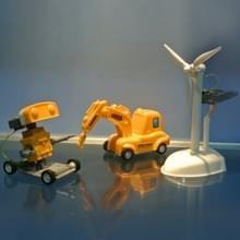 3 in 1 zoutwater aangedreven Robot Kits DIY intelligente speelgoed