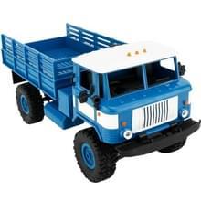 WPL B-24 DIY vergadering 1:16 Mini 4WD Truck van RC militaire controle auto Toy(Blue)