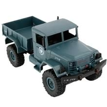 WPL B-1 DIY vergadering 1:16 de RC militaire Mini 4WD Truck controle auto Toy (blauw)
