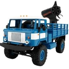WPL B-24 Full Body 1:16 Mini 2.4GHz RC 4WD militaire Truck controle auto Toy (blauw)