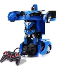 1023 4 kanalen op afstand misvormde auto Toy Car(Blue)