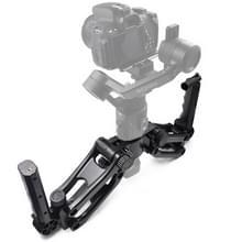 STARTRC 1105906 Dual hand-held 4-assige Z-as anti-shake demping stabilisatie Gimbal voor DJI RONIN-SC