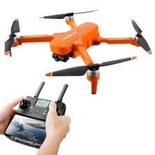 JJR/C X17 6K-GPS opvouwbare borstelloze 2-assige Gimbal Dual Camera RC Quadcopter Drone Afstandsbedieningsvliegtuigen (Oranje)