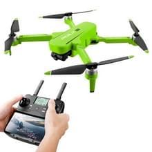 JJR/C X17 6K-GPS opvouwbare borstelloze 2-assige Gimbal Dual Camera RC Quadcopter Drone Afstandsbedieningsvliegtuigen (Groen)