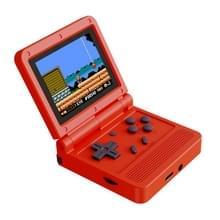 Powkiddy V90 3 0 inch IPS-scherm 64-bits Retro Handheld Game Console met 16 GB geheugen (rood)