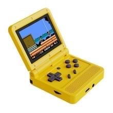 Powkiddy V90 3 0 inch IPS-scherm 64-bits Retro Handheld Game Console met 16 GB geheugen (geel)