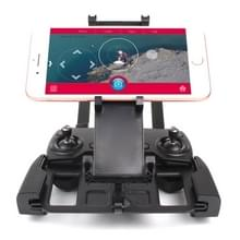 Opvouwbare rekbare Rotatable luchtvaart aluminiumlegering houder voor DJI Mavic Pro/Air/Spark transmitter  geschikt voor 5.5-9.7 inch smartphone/Tablet (zwart)