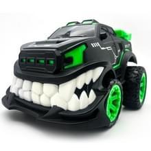 HD885J duivel tandvorm 360 graden rechtopstaande rotatie stunt afstandsbediening auto elektrische voertuig speelgoed (groen)