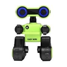 JJR/C R13 2.4 GHz CADY WIRI intelligent verkend afstandsbediening robot speelgoed (groen)