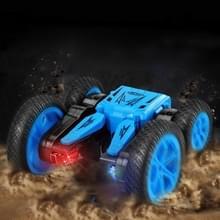 JJR/C Q71 2.4 GHz dubbelzijdige aandrijving stunt afstandsbediening tuimelen truck voertuig speelgoed (blauw)