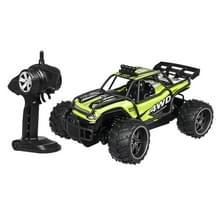 S-009 oplaadbare 2.4 G 4WD SUV kinderen afstandsbediening hoge snelheid auto draadloze klim wagen (groen)