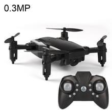 LF606 Wifi FPV Mini Quadcopter opvouwbare RC Drone met 0.3MP Camera & afstandsbediening  een batterij  steunen één belangrijke Take-off / Landing  één belangrijke rendement  Headless Mode  hoogte Hold Mode(Black)