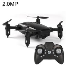 LF606 Wifi FPV Mini Quadcopter opvouwbare RC Drone met 2.0MP Camera & afstandsbediening  een batterij  steunen één belangrijke Take-off / Landing  één belangrijke rendement  Headless Mode  hoogte Hold Mode(Black)