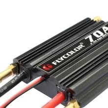 Flycolor Flymoster serie 70 bis 2-6S waterdicht elektronische snelheidsregelaar voor RC boot