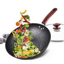 Inductiefornuis General Health Maifan Stone Wok Anti-stick Pan  Monddiameter: 32cm