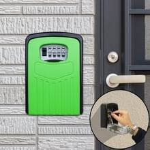 Grote wachtwoord lock metalen opbergdoos Villa veiligheid vak Wandkast veiligheid box (groen)
