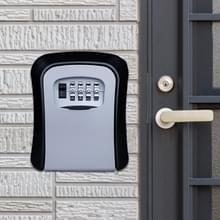 Wachtwoord lock metalen opbergdoos deur veiligheid vak muur kabinet Sleutelkluis (grijs)