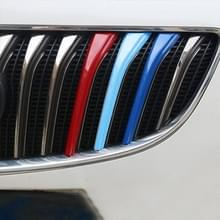 3 PC's auto voorgrille kunststof decoratie Strip Front Grill rooster Inserts Cover Strip auto Styling accessoires voor Regal 2014-2017
