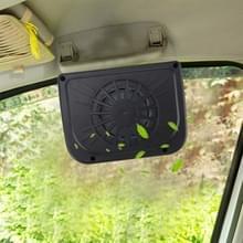Solar Car windscherm automatische koeling fan auto koeling fan lucht vent auto fan Solar Car Auto Cool ventilator koeler voertuig lucht vent radiator met rubberen strip