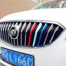 3 PC's auto voorgrille kunststof decoratie Strip Front Grill rooster Inserts Cover Strip auto Styling accessoires voor Verano