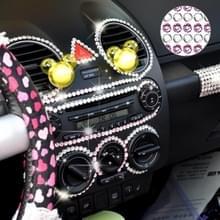 4 mm glitter Crystal Diamond decoratie/glanzende Strass sticker voor auto sticker & mobiele telefoon ornament