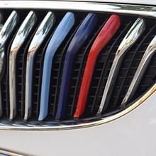 3 delige auto voorgrille kunststof decoratie Strip voor VERANO