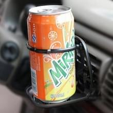 SHUNWEI SD-1010 opvouwbare Auto Car Air Vent Outlet drank Cup drank fles houder Stand Mount(Black)