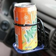 SHUNWEI SD-1010 opvouwbare Auto Car Air Vent Outlet drank Cup drank fles houder Stand Mount(Blue)