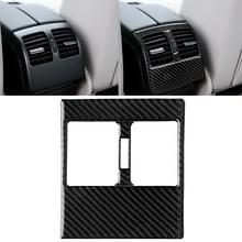 Auto Carbon Fiber achterste luchtuitlaat panel decoratieve sticker voor Mercedes-Benz W204 2007-2013