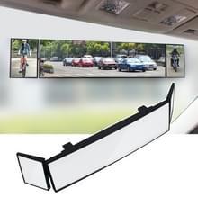 SHUNWEI grote auto drieledig Curve oppervlakte achteruitkijkspiegel Reverse groothoek instelbare hoek Auxiliary Blind gebied Retroreflector omkeren groothoeklens