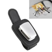 Auto multi-functionele zonnebril clip houder (zwart)