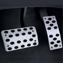 2 PC's universele RVS auto veiligheid automatische Gas pedalen remblokken