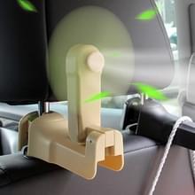 Multifunctionele autostoel terug fan hanger houder (beige)