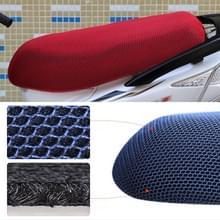 Waterdichte motor zonwering Warmteisolatie Stoelbekleding voorkomt koesteren in stoel scooter kussen te beschermen  grootte: XL  Lengte: 78-85cm; Breedte: 40-53cm(Rood)