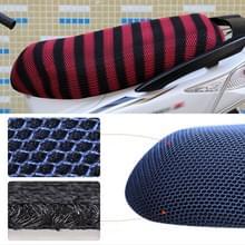 Waterdichte motor zonwering Warmteisolatie Stoelbekleding voorkomt koesteren in stoel scooter kussen te beschermen  grootte: XL  Lengte: 78-85cm; Breedte: 40-53cm(Rood + Zwart)